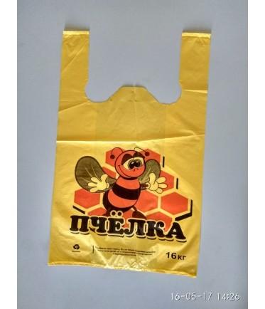 "Пакет майка ""Пчела"" 30х50"
