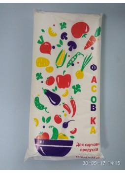 """Фасовочные пакеты 18х35см """"Овощи 1000шт."""""""