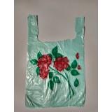"""Пакет майка """"Букет роз"""" 27х44"""