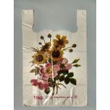 """Пакет майка """"Цветы"""" 38х58"""
