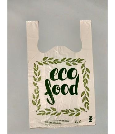 "ПАКЕТ МАЙКА ""Eco food"" 30Х50"