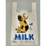"Пакет майка ""Milk"" 30х50"