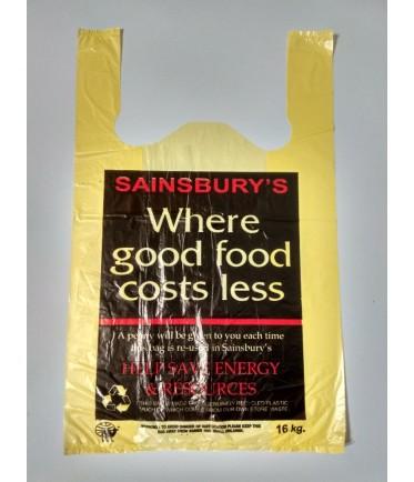 """Пакет майка """"Sainsbury"""" 30х50"""